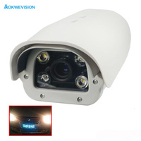 Onvif 1080P 2MP Vehicle License Number Plate Recognition 5 50mm Varifocal Lens LPR IP Camera Outdoor