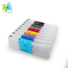 700ml refillable ink cartridges for epson stylus pro 7890 9890 printers, printer with resettable chips