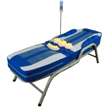 HFR-168-1D-1 Migun Hot Heated Portable Korea Cheap Nuga Best Warm LCD Automatic Electric Rolling Thermal Jade Stone Massage Bed byriver brand korea folding electric v3 scan body function thermal jade stone massage bed table massager