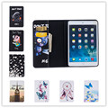 2016 new colorfull flower& butterfly leather case For iPad Pro 9.7 cute bear & cool pig wallet stand case cover for ipad 7 air 3