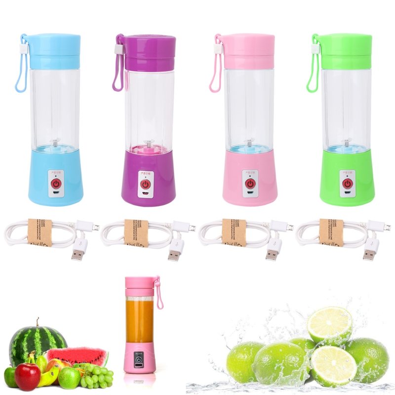 Electric Juice Juicer Blender Kitchen Drink Bottle Fruit Maker USB Rechargeable 800ml fruit juice infusing infuser water bottle sport health lemon juice bottle flip lid