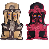 Hot Sale Colorful Girl Seat Covers For Cars Auto Car Safety Child Safety Belt Portable Infant