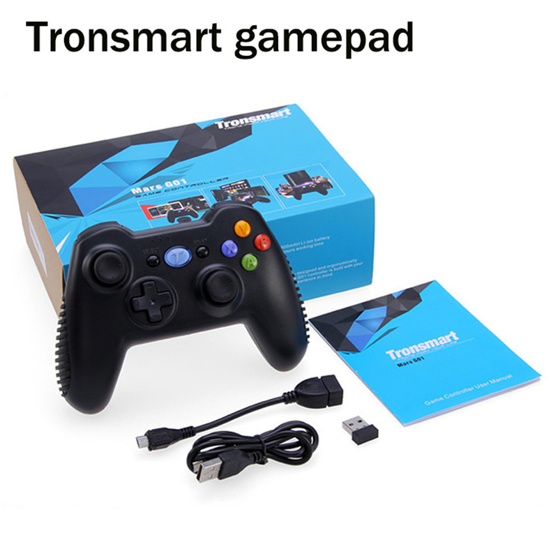 Tronsmart 2 4G Wireless Game Handle Controller Remote Joystick GamePad with Holder Mount For Xiaomi Samsung