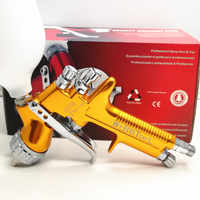 SPRAY GUN GFG pro England Professional 1.3/1.8mm Gravity Feed free shipping auto paint painted high efficiency