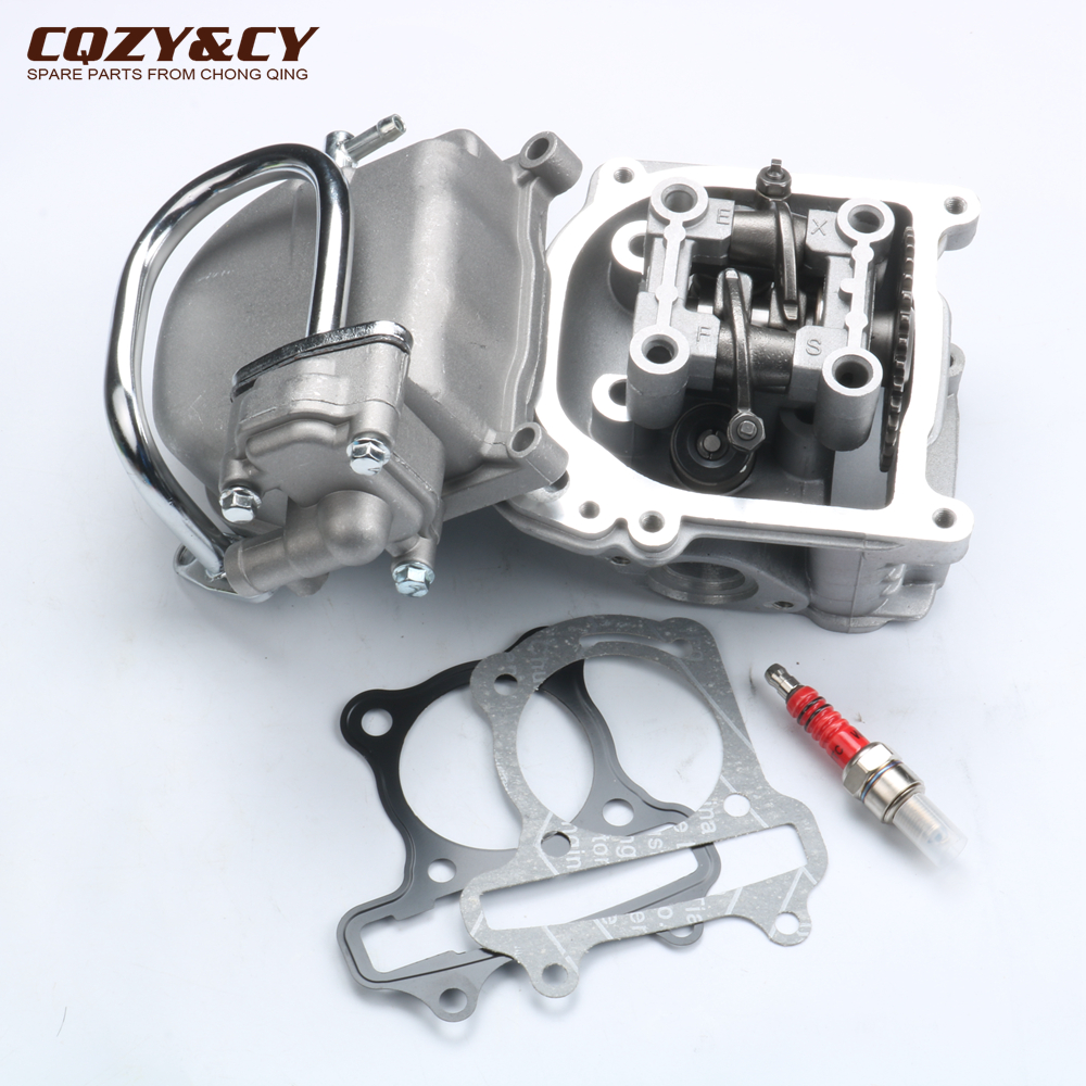 47mm 50mm Cylinder Head big bore EGR & 9 holes Cam & Rocker & Cylinder Head Cover for Taotao Chinese 50cc QMB139 Scooter