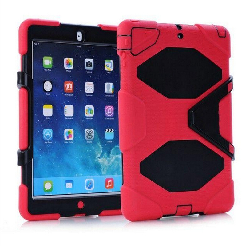 Military Extreme Heavy Duty Waterproof Shockproof Defender Case With Belt Clip Stand Case Cover For iPad Air iPad 5