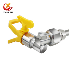 7/8 F-7/8 M Universal Swivel Joint with Sprayer Base Guard & 517 Tip for Airless Spray Gun of Spraying Machine