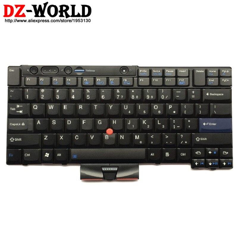 New Original US English Keyboard for Lenovo Thinkpad X220 X220i X220T X220 Tablet Teclado 45N2141 45N2211