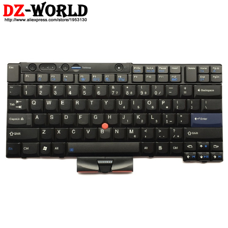 New Original US English Keyboard for Lenovo Thinkpad X220 X220i X220T (X220 Tablet) Teclado 45N2141 45N2211 45N2071 45N2106 new english laptop keyboard for thinkpad e531 l540 e540 w540 w541 t550 t540p us keyboard replacement fru 01ax160