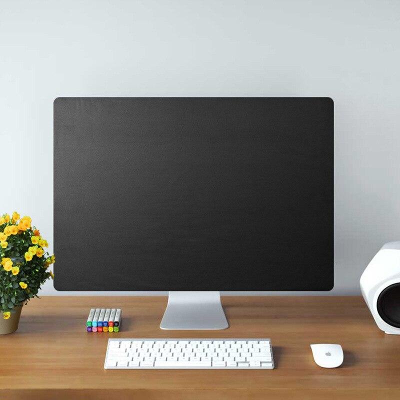 21 дюймов 27 дюймов iMac пылезащитный чехол для компьютера монитор пылезащитный чехол с внутренней мягкой пылезащитный че - Цвет: black-B