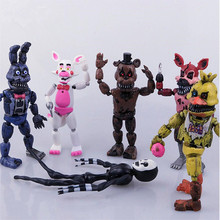 Heißer Verkauf Fünf Nacht Zu Freddy Anime Fnaf Bär Kostenloser Montage Action Figure Pvc Modell Freddy Spielzeug Für Kinder