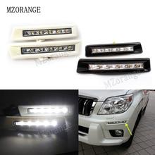 цена на MZORANGE 12v DRL Daytime Running Light Day Light For Toyota Prado FJ150 LC150 2010 2011 2012 2013 For Land Cruiser 2700/4000