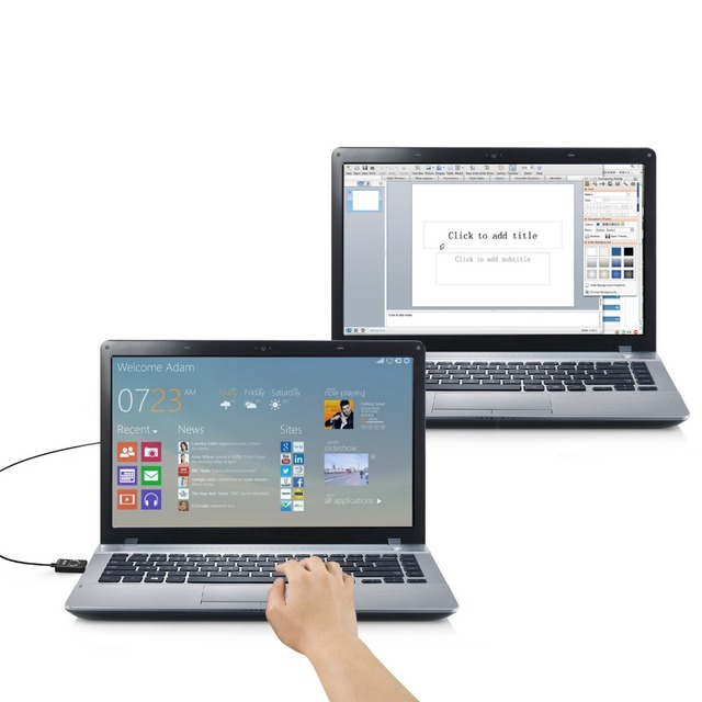 ICZI USB 2.0 Easy Transfer Cable (5ft/1.5m) USB 2.0 Smart KM (Keyboard & Mouse) Link for Windows 10/ 8.1/ 8/ 7/ Vista XP Mac OS