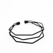 BM062 Fashion Geometric Open Bracelet For Women Three Layers Alloy Personality Bangles Jewelry Wholesale three layers gemstones pendant bracelet watch
