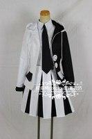 Super Dangan Ronpa 2 Danganronpa Monokuma Cosplay Costume Full Set Dress With top+shorts+skirt Custom Made