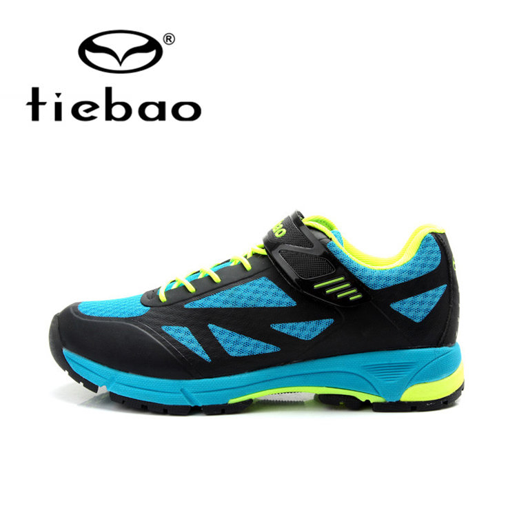Tiebao Breathable Bicycle Leisure Cycling Shoes Men MTB Road Bike Athletic Shoes Rubber Soles Self-Locking Shoes west biking bike chain wheel 39 53t bicycle crank 170 175mm fit speed 9 mtb road bike cycling bicycle crank