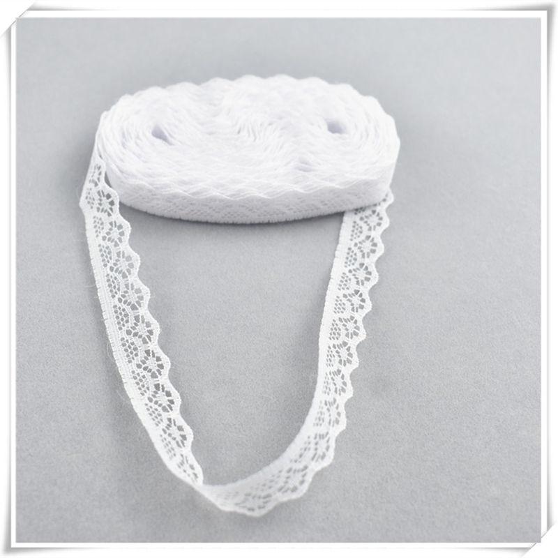 10 ярдов, белая кружевная лента, 14 мм, африканская кружевная ткань, сделай сам, французская кружевная ткань, свадебное украшение, женская одеж...