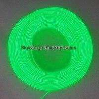 3.2mm высота brightness100Meter (зеленый лимон)/пакет гибкий неон EL трос Tube El свет