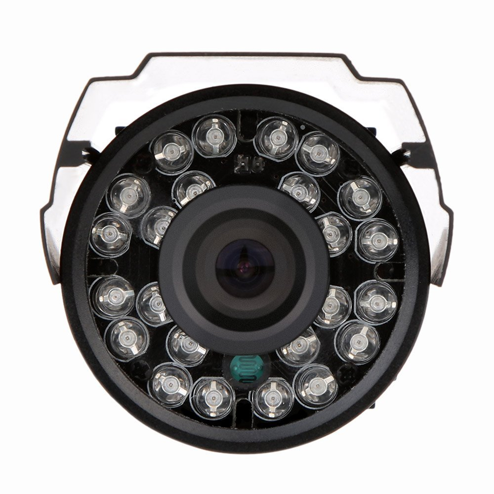 2 Packs HD 800TVL 24 IR LED CCTV Camera Home Surveillance Camera Day/ Night Waterproof Camera zea afs011 600tvl hd cctv surveillance camera w 36 ir led white pal