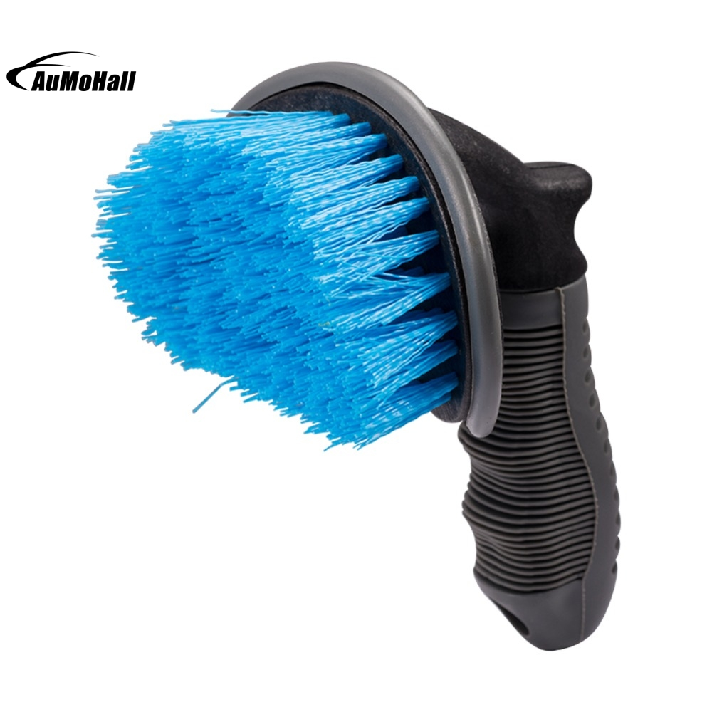 Vehicle Car Motorcycle Wheel Tire Rim Scrub Brush Washing Cleaning Tool