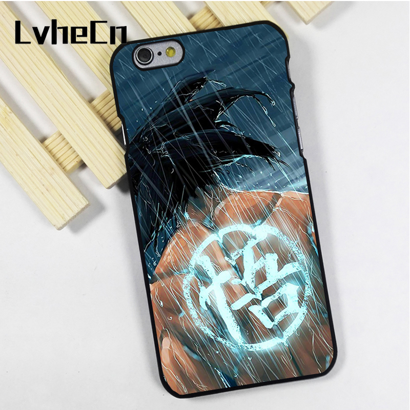 LvheCn phone case cover fit for iPhone 4 4s 5 5s 5c SE 6 6s 7 8 plus X ipod touch 4 5 6 Dragon Ball Z-Battle of Gods