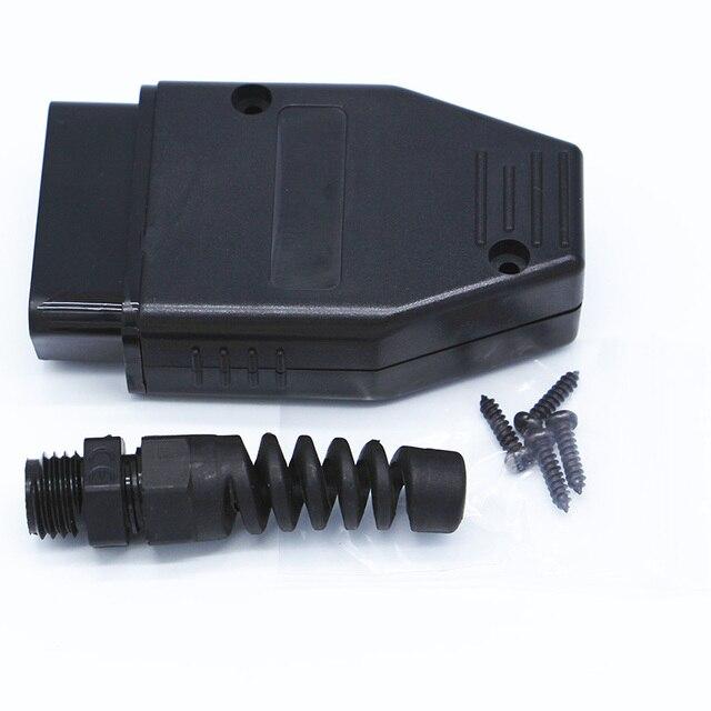 10 stücke Universal 16Pin 16 pin EOBD2 OBDii OBD II OBD2 J1962 Stecker Männlich Stecker Adapter 1 stück
