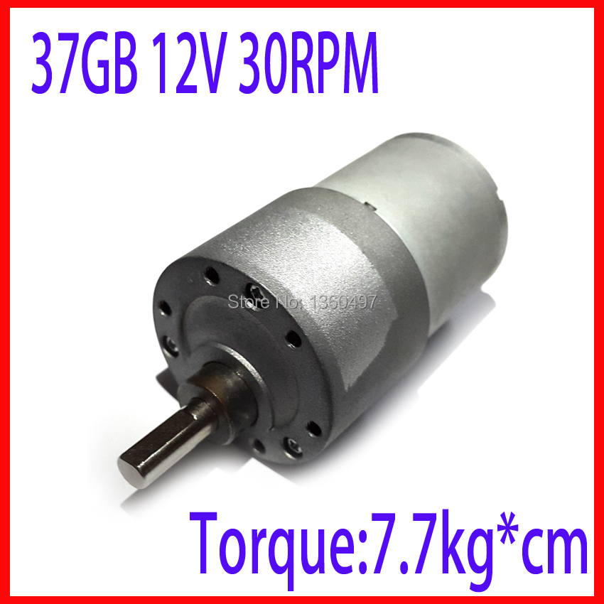 High Torque Gear Box 30RPM 37GB 37MM 12V Powerful dc motor 12v Electric Motor 12v brushless dc motor fan electric boat motor отсутствует варенье джемы компоты