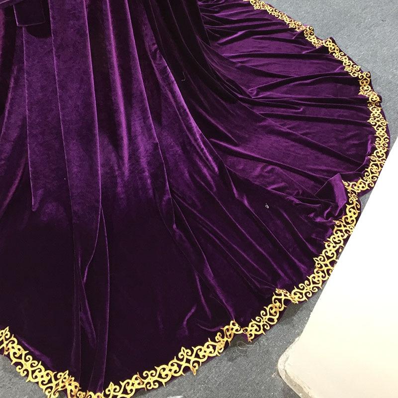 Dress Dubai Muslim Gown