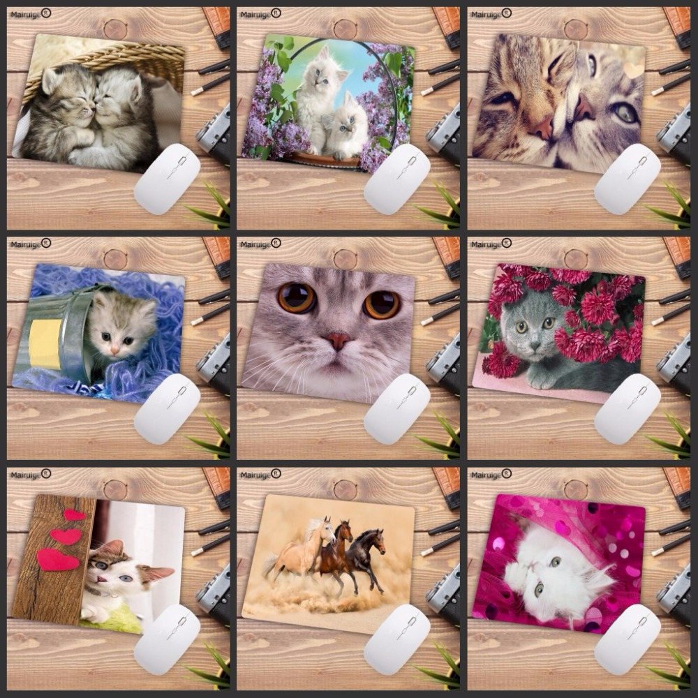 Mairuige Cute Cat Office Mice Gamer Soft  Speed Mouse Pad Size For 18X22CM Gaming Mousepads Big Promotion!