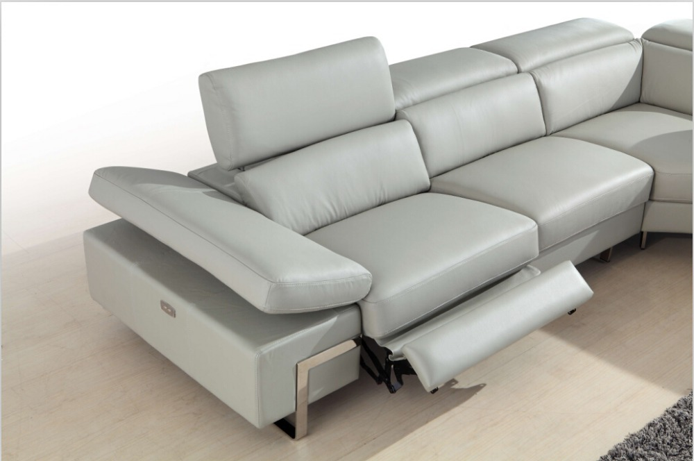 Charming ... Leather Recliner Sofa With Top Italian 882. Chair Legs For Picture More  Detailed About Electric