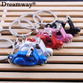 electrombile model key chains fashion lovely mini battery-operated motor cycle keychains ring for the key factory wholesale