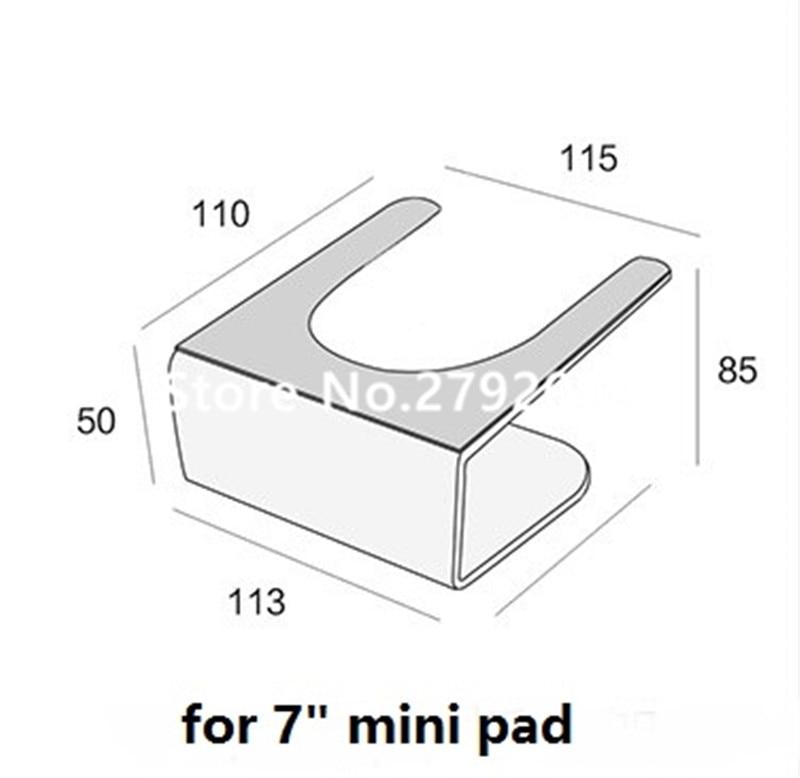 10 pçs lote segurança Ipad estande tablet