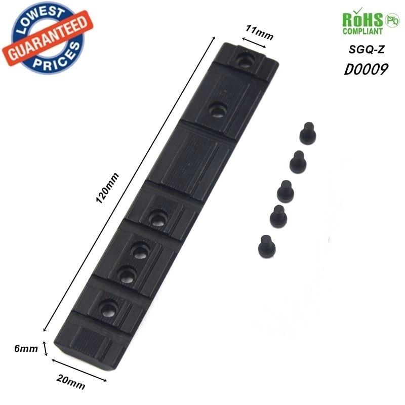 1 stück SGQ-Z 11mm Schwalbenschwanz verlängern zu 20mm Weberschienenadapter Umfang basen Halterung für zielfernrohr verlängern Picatinny Weber-einfassung
