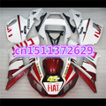NEW Fairing kit for Yamaha YZF-R6 98-02 YZF R6 98 99 00 01 02 red white YZF 600 R6 1998 99 00 01 2002 ABS fairing parts
