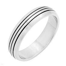 TR-1 moda corazón encanto anillo del dedo amantes alta calidad 316L Acero inoxidable hombres/mujeres anillo pareja joyería anillo de regalo