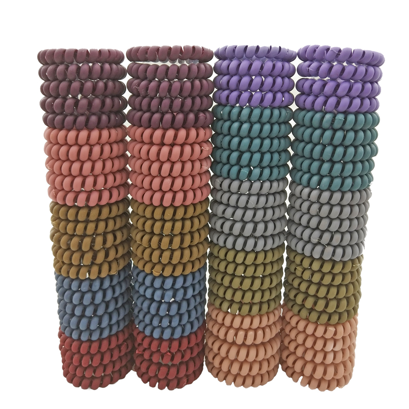 Lots 100 Pcs Size 5 5cm Gum For Hair Accessories Ring Rope Hairband Elastic Hair Bands