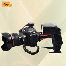 Pixel FC-311 3.6 mtll Off-Камера синхронизации вспышки удлинитель Горячий башмак TTL шнур для Canon EOS Камера s /Flash TTL/e-TTL кабель как OC-E3