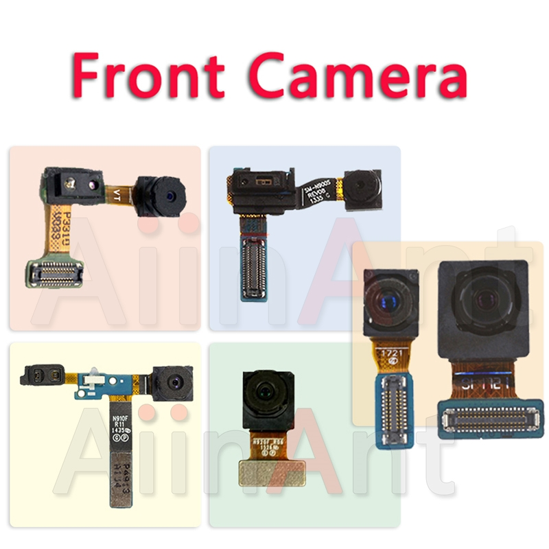 Original Front Camera For Samsung Galaxy Note 2 3 4 5 8 N7100 N900 N9005 N910F N910C N950F N950U Face Front Camera Flex