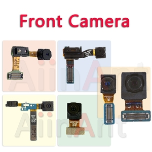 Image 1 - Oryginalna przednia kamera do Samsung Galaxy uwaga 2 3 4 5 8 N7100 N900 N9005 N910F N910C N950F N950U twarz przedni aparat Flex