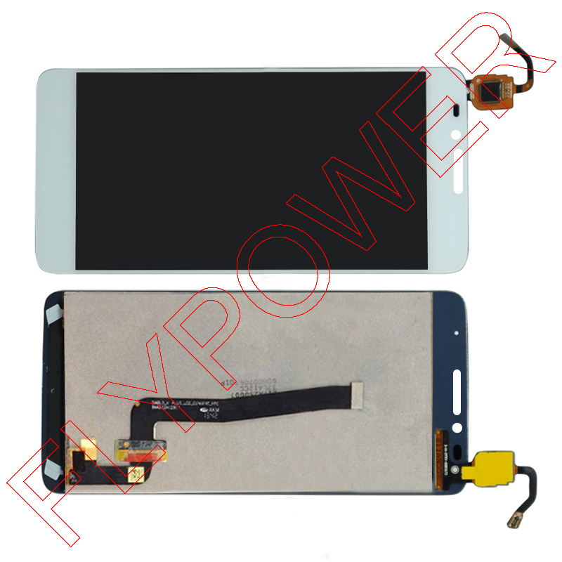 FOR TCL S960 S960T LCD Display +digitizer touch Screen Glass assembly White color by Free shipping