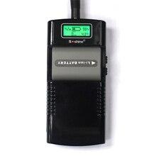 Soshine Новый M20 цифровой ЖК дисплей Дисплей стены интеллигентая (ый) Батарея Зарядное устройство для батарей Li Ion (литий ионных) Батарея 3,7 V/7,4 V Rechargea штепсельная вилка европейского стандарта
