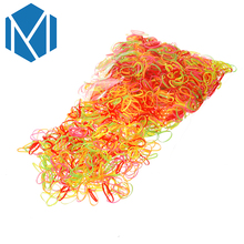 2000/600pcs/bag Child Baby Gum for Hair TPU Disposable Elastics Hair Bands Girls Ponytail Holder Rubber Bands Hair Accessories