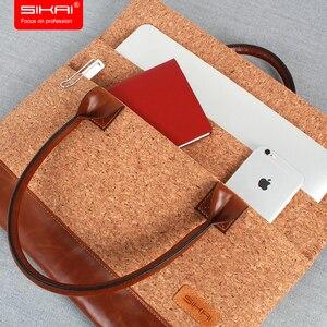 Image 3 - Новый портативный портфель KUMON для ноутбука, сумка для ноутбука Huawei MateBook, водонепроницаемый чехол для Macbook, для Dell