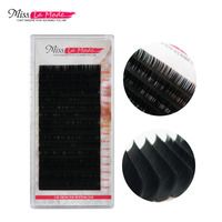 4Trays 0 07 JBCD Curl 16 Rows Per Tray Eyelash Extension Mink False Fake Lashes