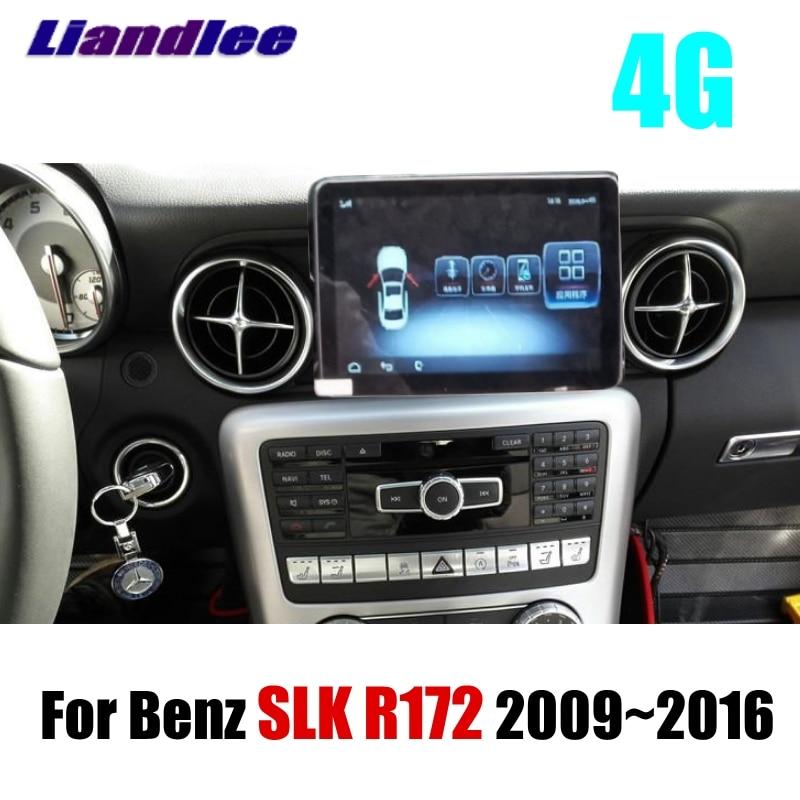 For Mercedes Benz SLK 200 350 MB R172 2009~2015 Original car style Liandlee Car Multimedia Player NAVI Radio GPS Navigation liandlee car multimedia player navi for mercedes benz mb e class c207 a207 2009 2017 original car style radio gps map navigation