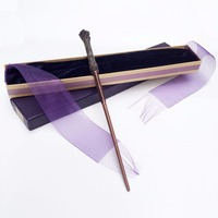 New Arrive Metal Iron Core Harry Potter Magic Wand Harry Potter Magic Magical Wand Elegant Ribbon
