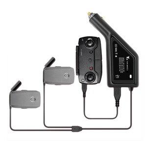 Image 1 - Autolader Voor Dji Mavic 2 Pro Drone Batterij Met 2 Batterij Poorten Opladen Snel Opladen Vervoer Reizen Outdoor Oplader