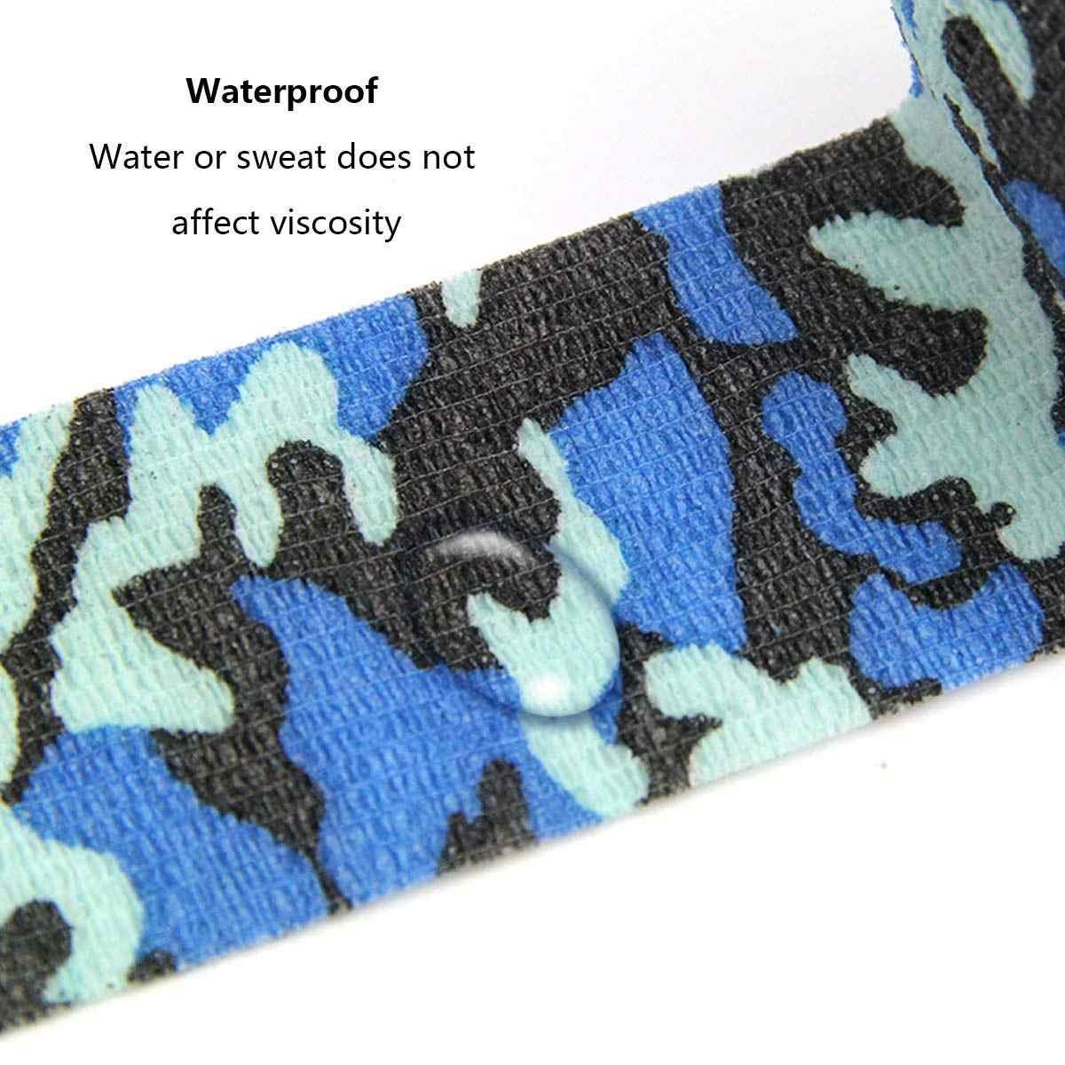 10 см X 4,5 м высококачественный ветеринарный обертывание цветной клей водонепроницаемый конский медицинский нетканый эластичный бинт