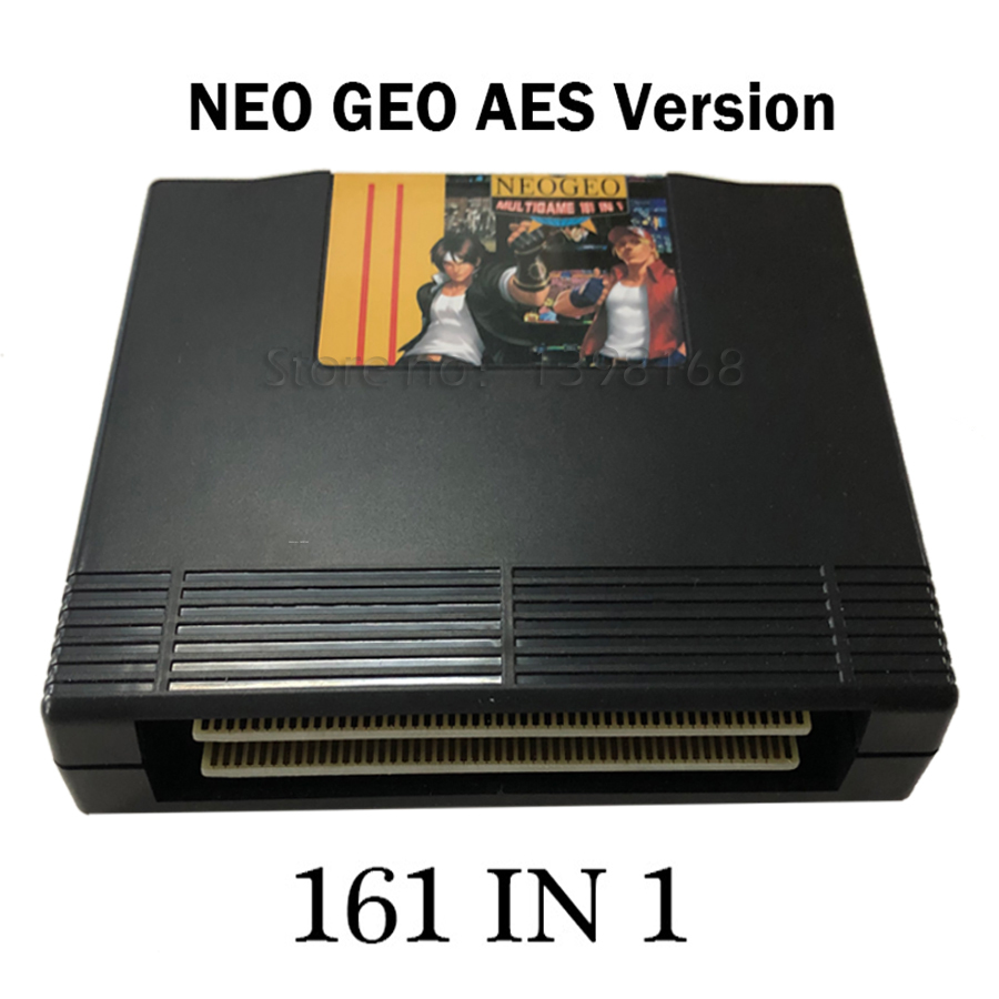 161 in 1 NEO GEO AES multi games Cartridge Standard Jamma NeoGeo Super AES 161 in