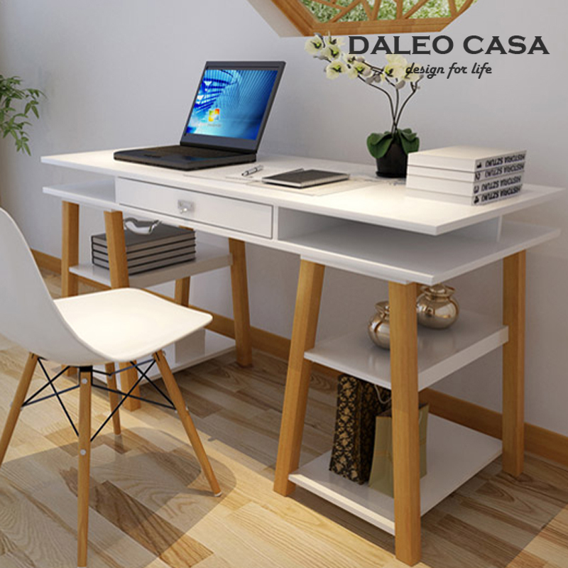 DALEO CASA Scandinavian designers desk desk IKEA IKEA style wood tables  recommended by the student desk-in Computer Desks from Furniture on  Aliexpress.com ...